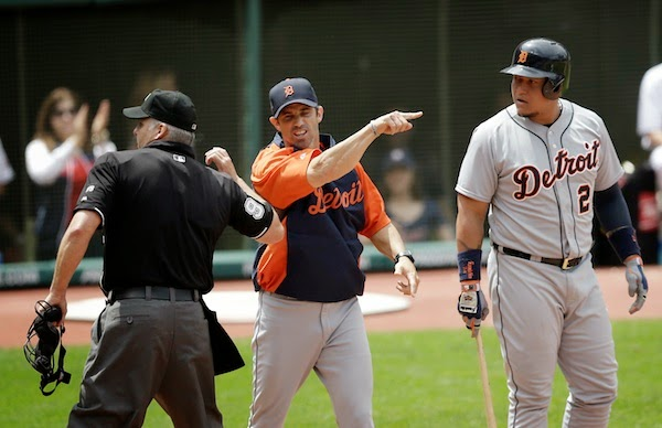 Replay hasn't reduced umpire arguments, manager ejections — just ask Tigers' Brad Ausmus