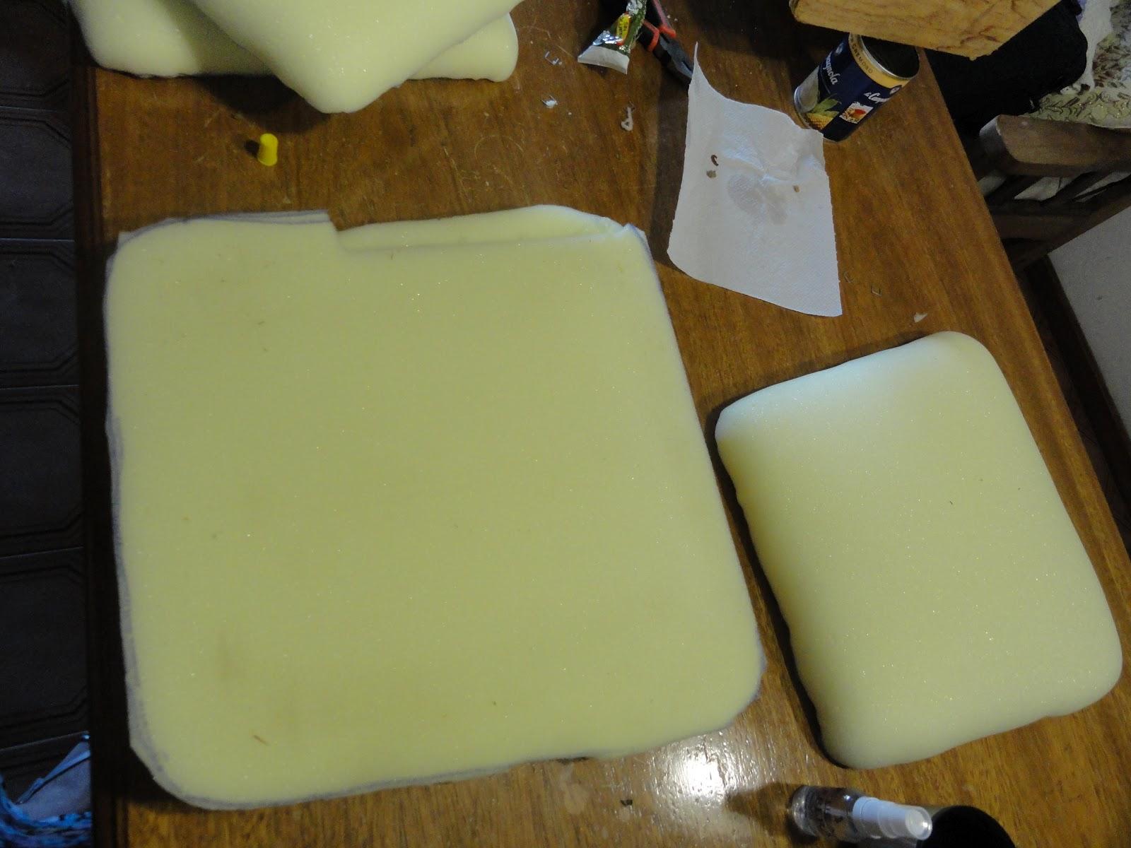 Entre varetas y cadenitas nuevo juego de comedor - Goma espuma para tapizar sillas ...