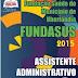 Apostila Concurso Fundasus 2015 - Assistente Administrativo