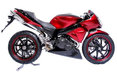 Motor Modif Modification Honda Cs 1 Into Muscle Bike Style