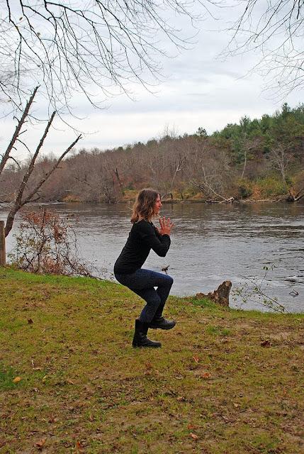 yoga+fleece+leggings - Snowflake Fleece Leggings: Outdoor Yoga