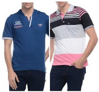 Buy D Vogue London Polo Shirt at Flat 43 % Off & 30 % Cashback:buytoearn