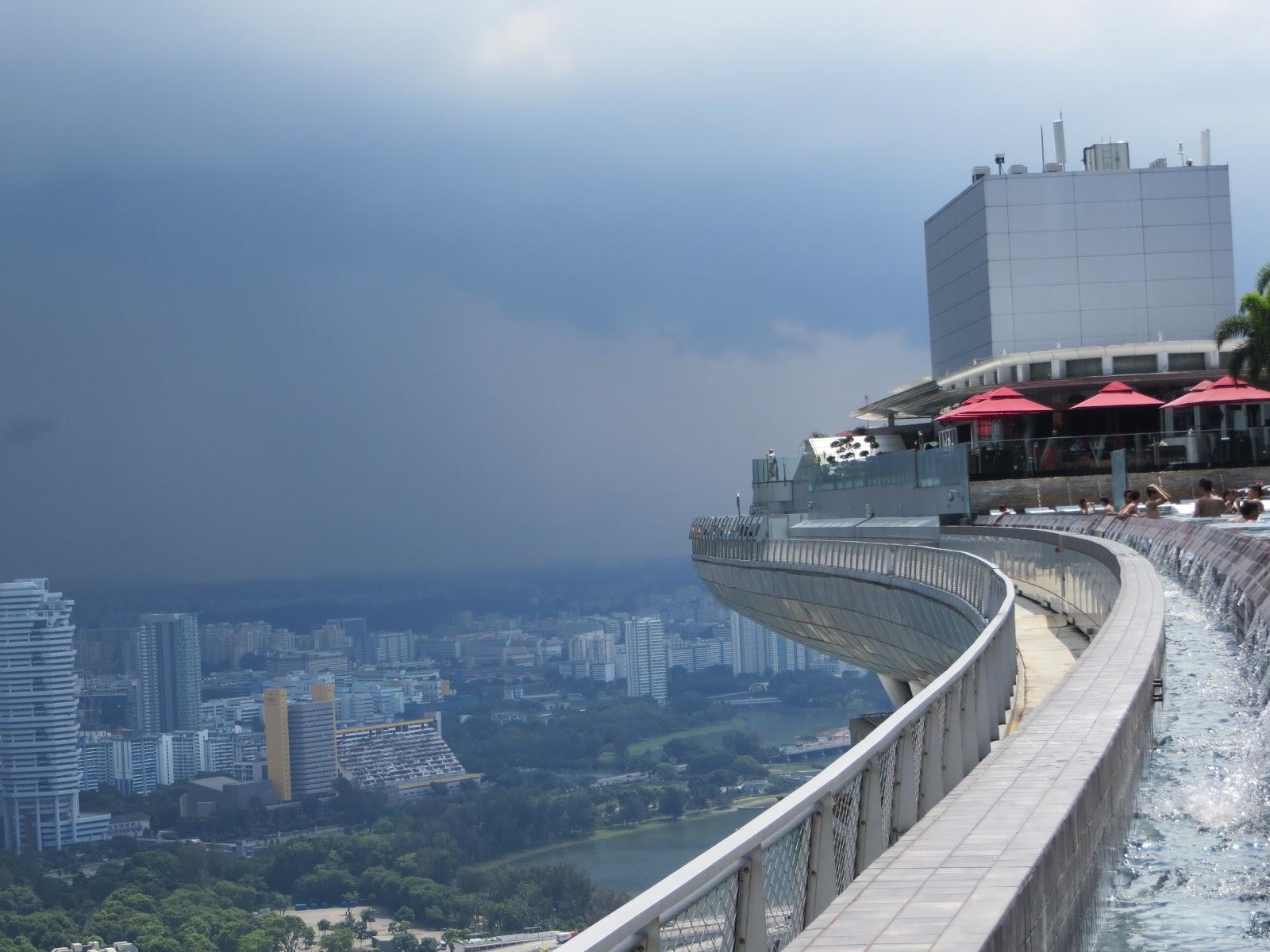Un semestre singapour for Singapour hotel piscine sur le toit