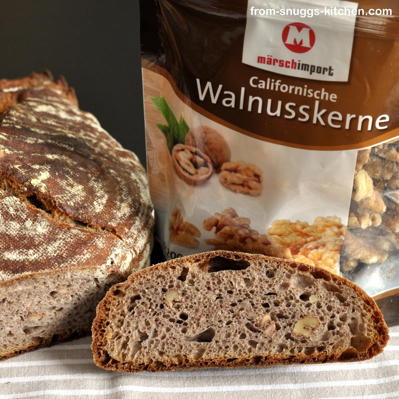 Walnuss-Kastanien-Brot