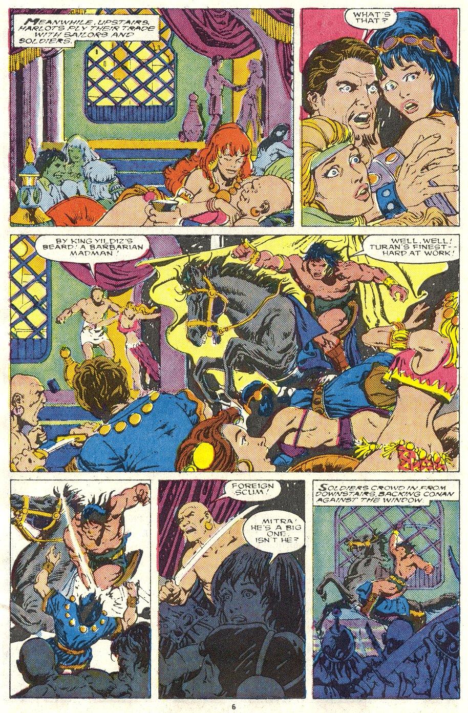 Conan the Barbarian (1970) Issue #219 #231 - English 6
