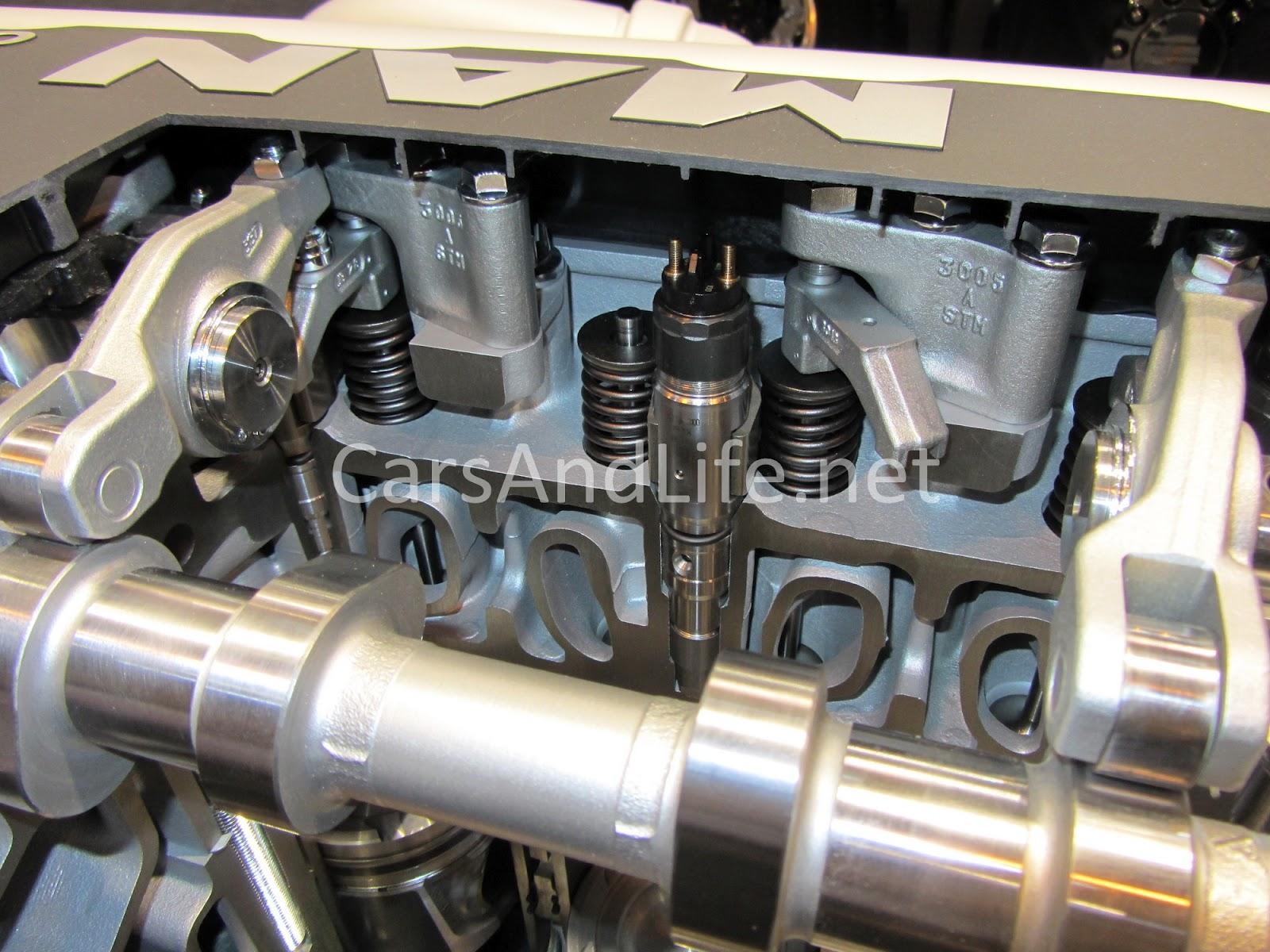 Inside Of A Diesel Engine Man Cv Show Birmingham 2012