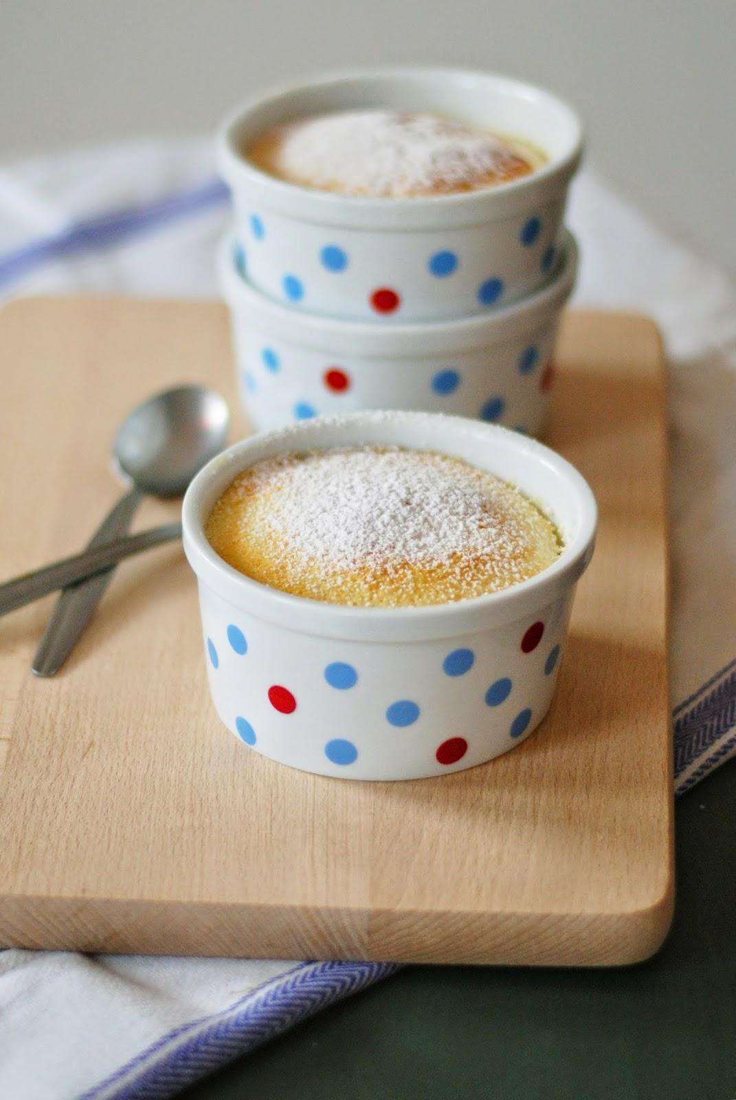 Pudding cytrynowy