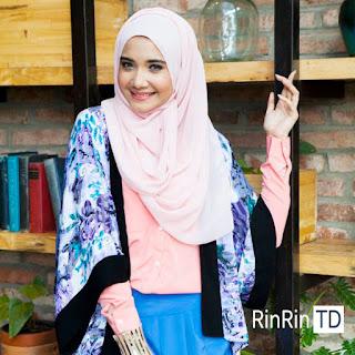 Jenis Jilbab untuk Bentuk Wajah Hati