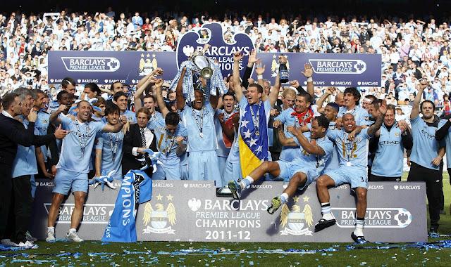 Manchester City Premier League Champions