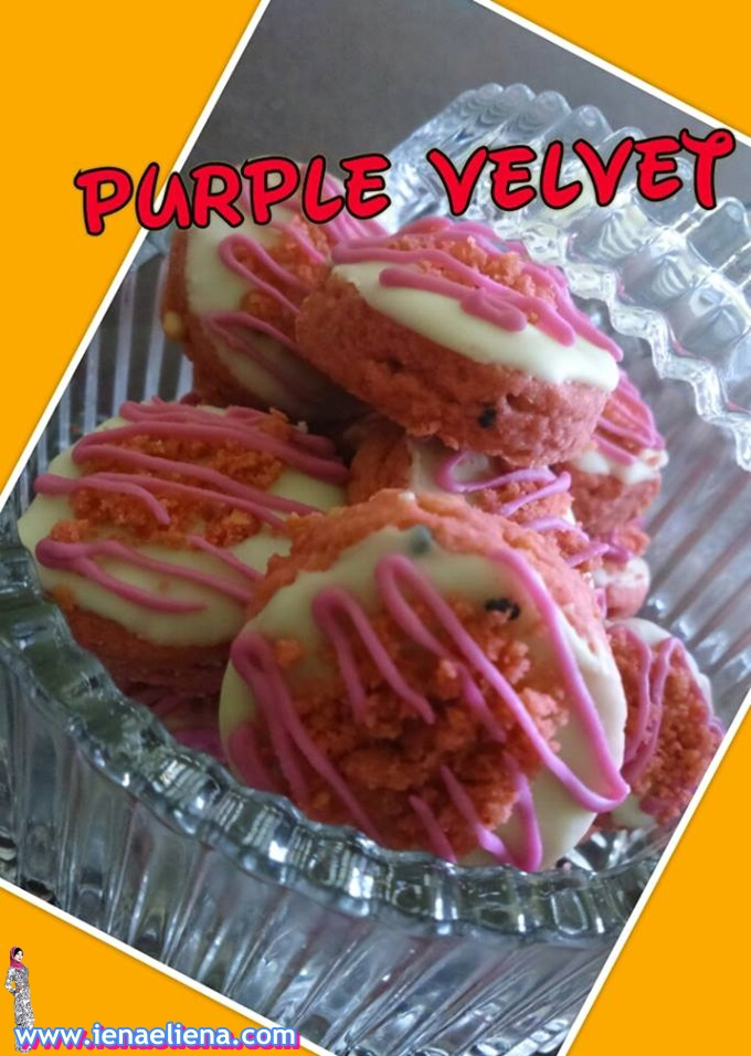 Homemade Biskut Purple Velvet