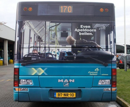 Amazing advertising on buses 16