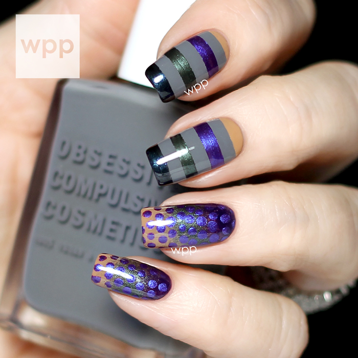 OCC Unknown Pleasure Fall Collection Nail Art