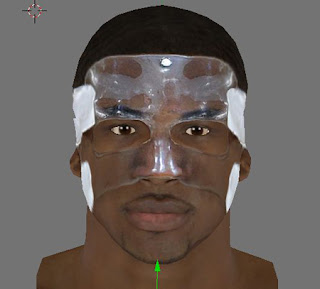 NBA 2K13 Tristan Thompson Cyber Face with Mask Patch