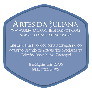 Sortei do blog da  Juliana