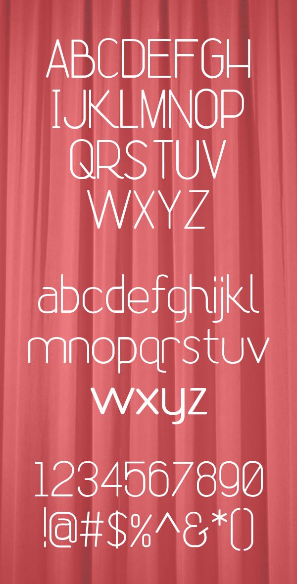 Font Terbaru Untuk Desain Grafis - Rhetoric Font Letters