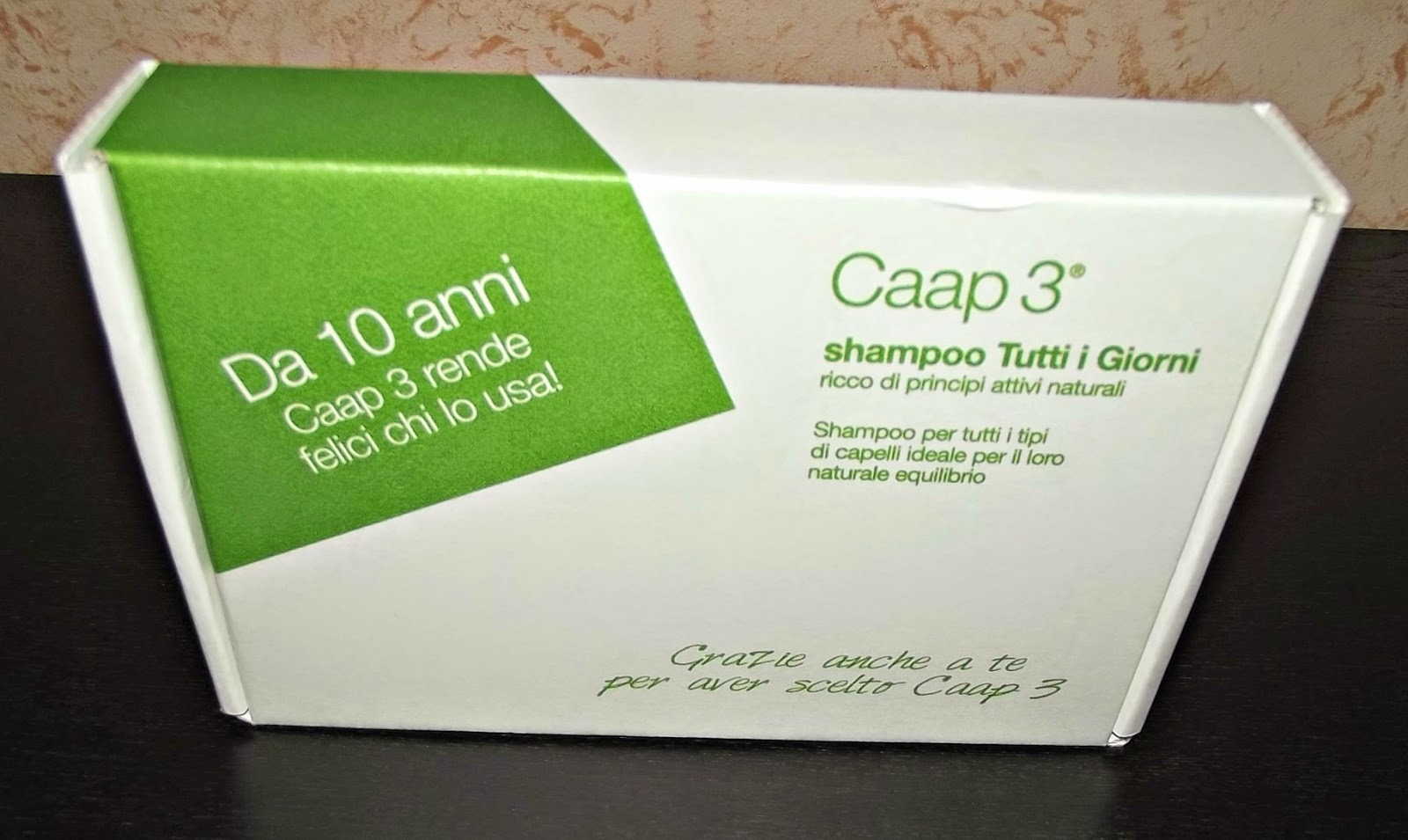 shampoo tutti i giorni caap3® per capelli sani e forti