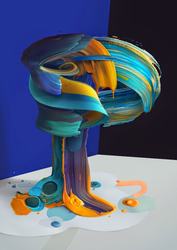 Letras pintadas por Pawel Nolbert