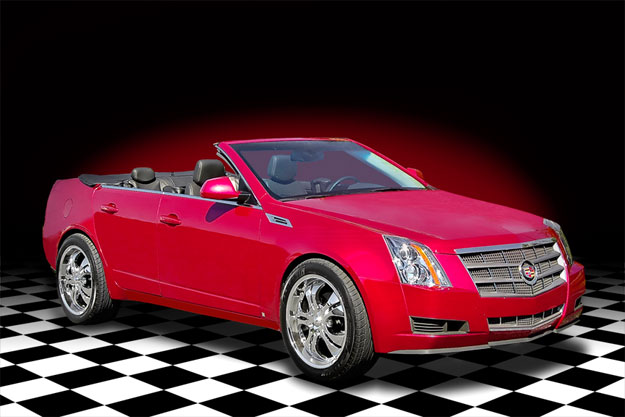 the super cars Cadillac CTS Convertible