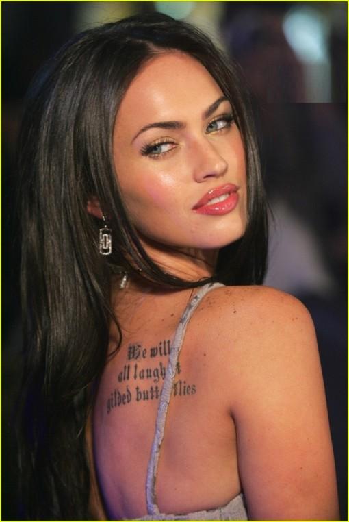celebrity tattoos designs ideas for girls 2012 2013 blondelacquer. Black Bedroom Furniture Sets. Home Design Ideas