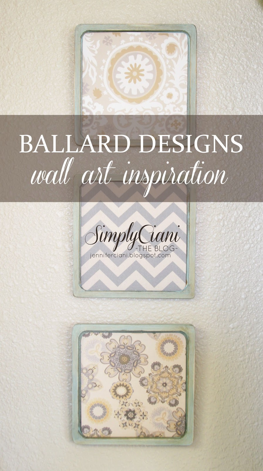 simply ciani ballard designs wall art inspiration diy