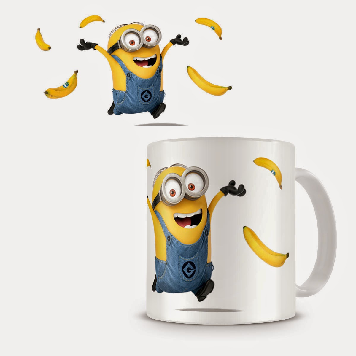 Taza Minion Bananas
