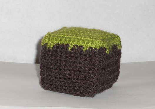Draadjes Blog Free Pattern Minecraft Dirt Block Cube
