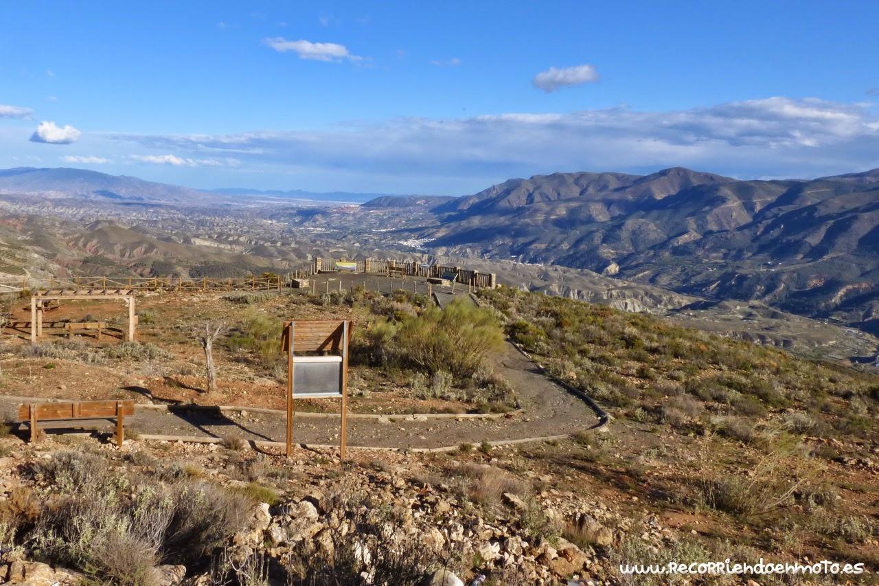 Mirador panoramica sierra Almería