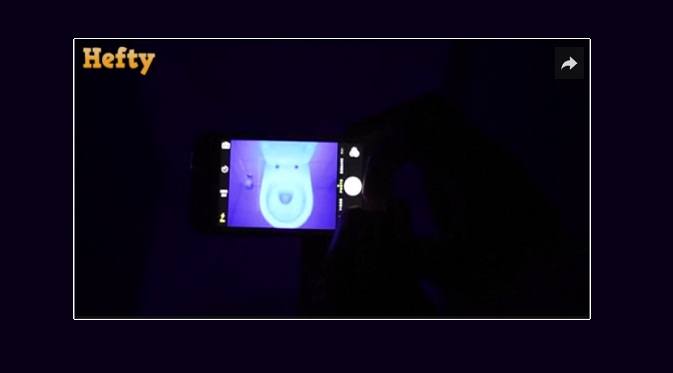 Smartphone Black Light