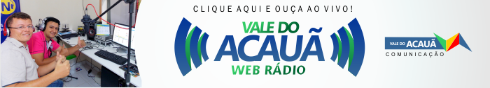 VALE DO ACAUÃ WEB RÁDIO - 24 HORAS NO AR