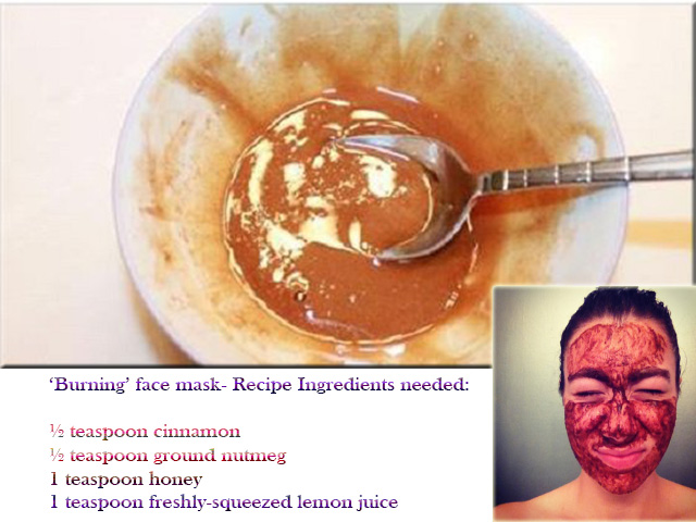 'Burning' Face Mask That Eliminates Scars and Blemishes from Your Skin
