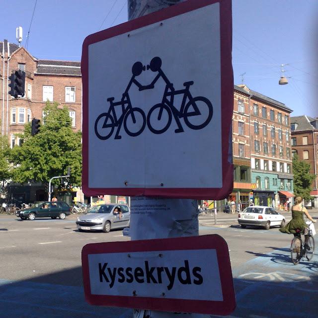 Kyssekryds - Runddelen, Nørrebrogade/Jagtvej, 2008