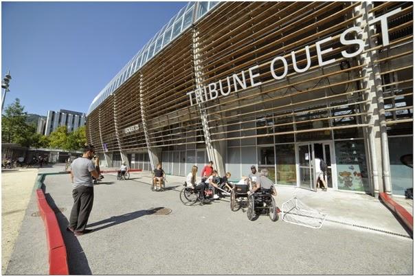 EASI Grenoble au Vélotour avec Talentéo
