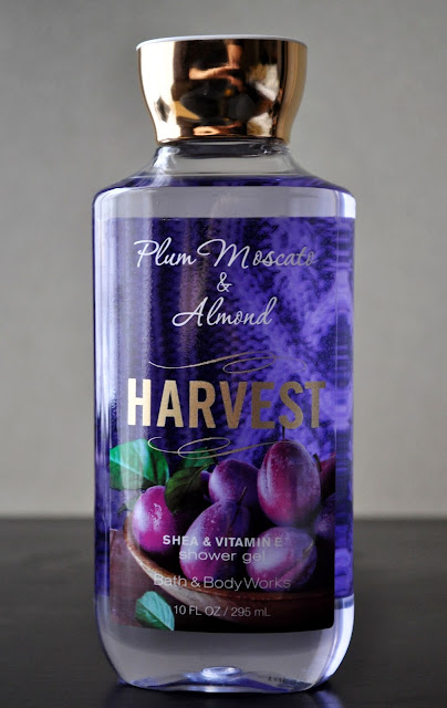 Visions Of Sugar Plums...Bath & Body Works' Plum Moscato & Almond Harvest Shower Gel