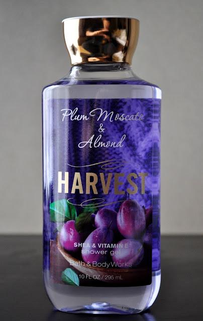 Visions Of Sugar Plums...Bath & Body Works' Plum Moscato & Almond Harvest Shower Gel