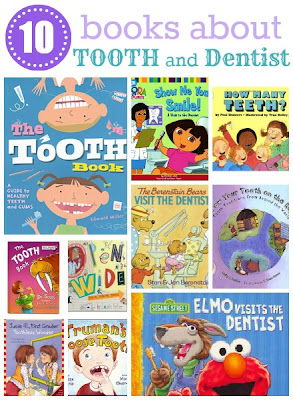 10 Childrens Books About Tooth and Dentist