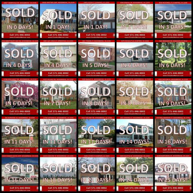 Sell Your Home Fast Woodbridge VA, Listing Agent Claudia S Nelson, A Proven Track Record to sell your home fast & for top dollar