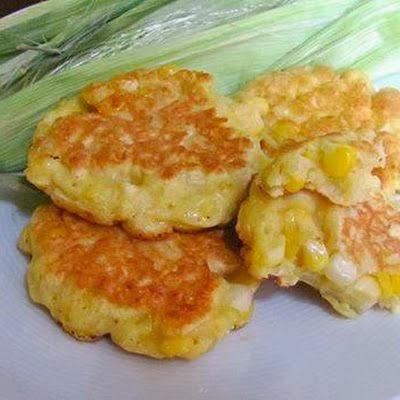 Sweet Corn Fritters | Cocinando con Alena