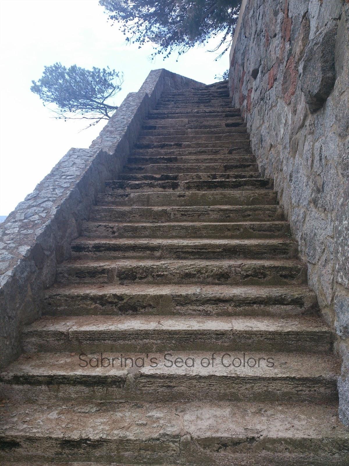 escaleras camino de ronda