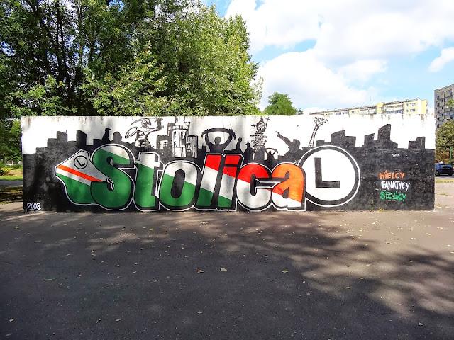 Murale Bemowskich Fanatyków Legii Warszawa