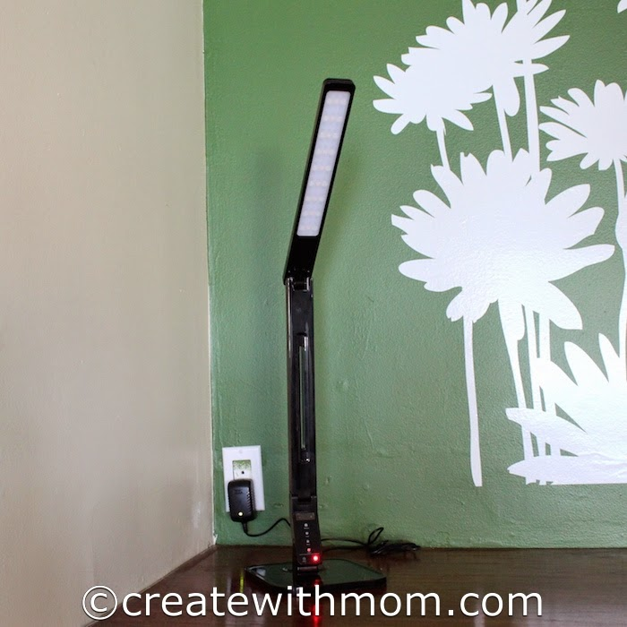 Create With Mom Taotronics Led Multi Function Desk Lamp