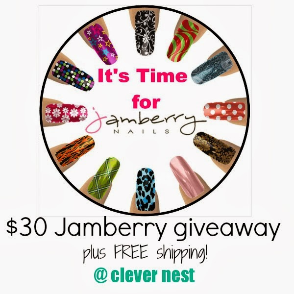$35 Jamberry Nails giveaway! ends 2/19/14 Clever Nest