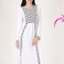Contoh Model Pakaian Dress Wanita Modern