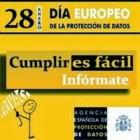 28 DE ENERO: DIA EUROPEO DE LA PROTECCION DE DATOS.