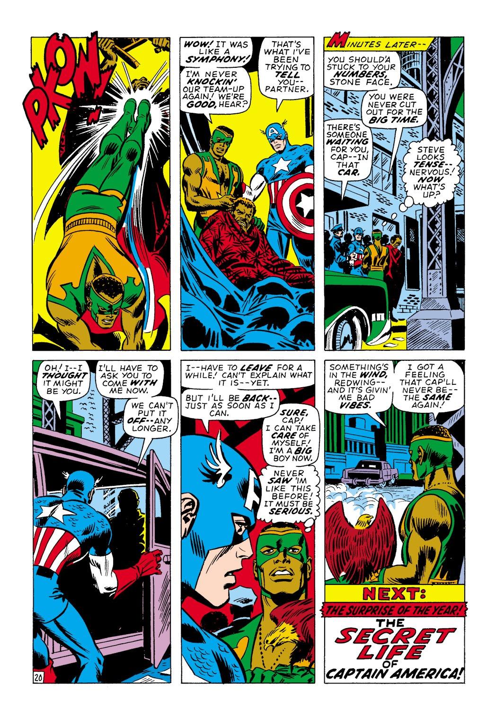 Captain America (1968) Issue #138 #52 - English 20