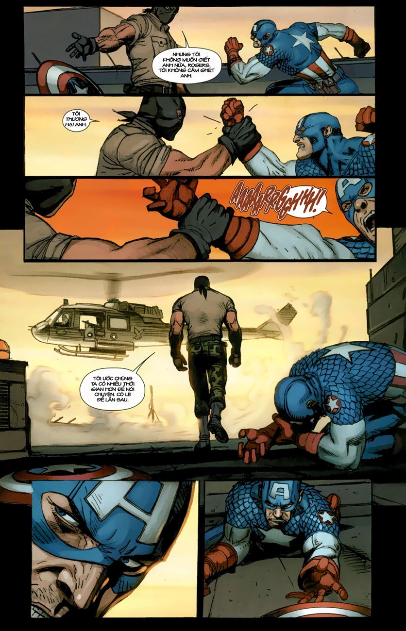 Ultimate Captain America chap 1 - Trang 21