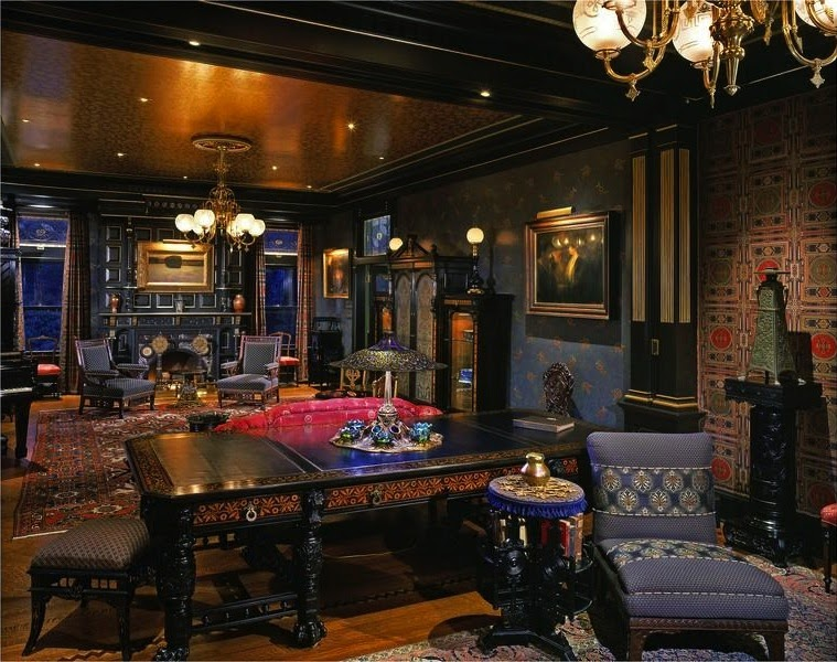 Victorian Gothic interior style: Victorian style interior ...