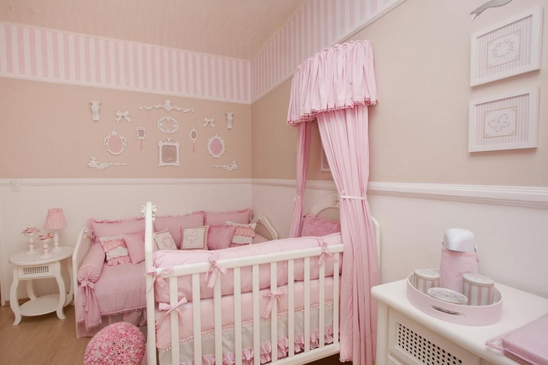 decoracao de jardim para quarto de bebe:Oz: Decoração de quarto de princesa