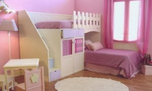 Girls Rooms in Pink Color