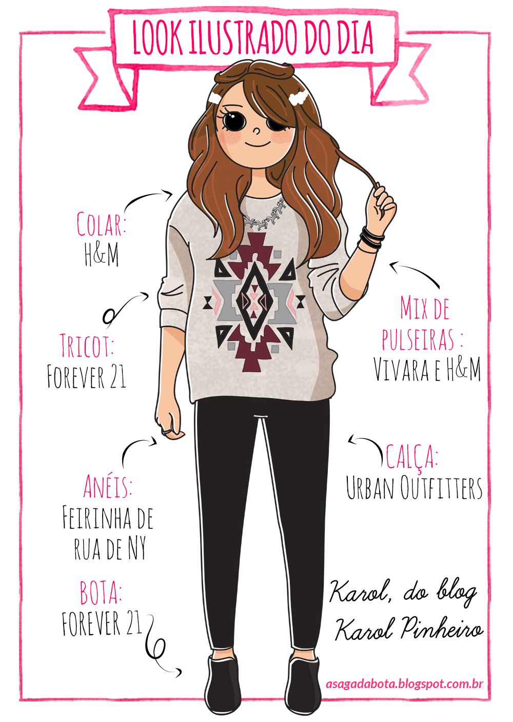 ilustração, ilustradora Kênia Lopes, desenho, ilustração personalizada para blog