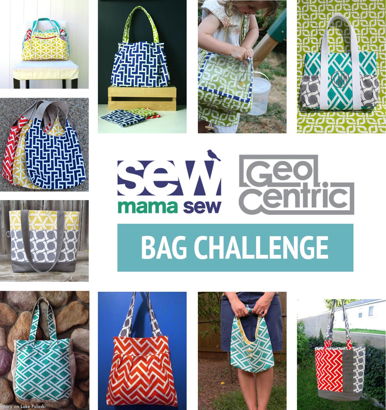 Sew mama sew geocentric bag challenge cloud9 fabrics jeuxipadfo Image collections